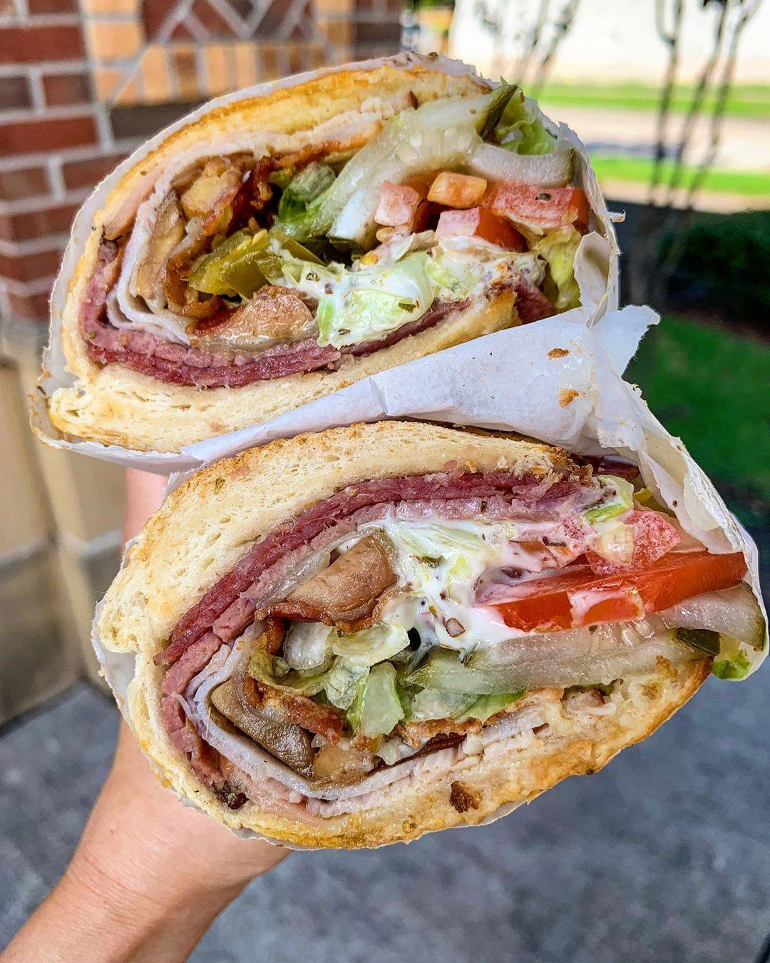 Delcious Sandwich from Potbelly