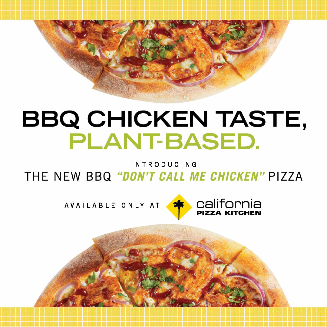 """Introducing the BBQ """"Don't Call Me Chicken""""™ Pizza!"""