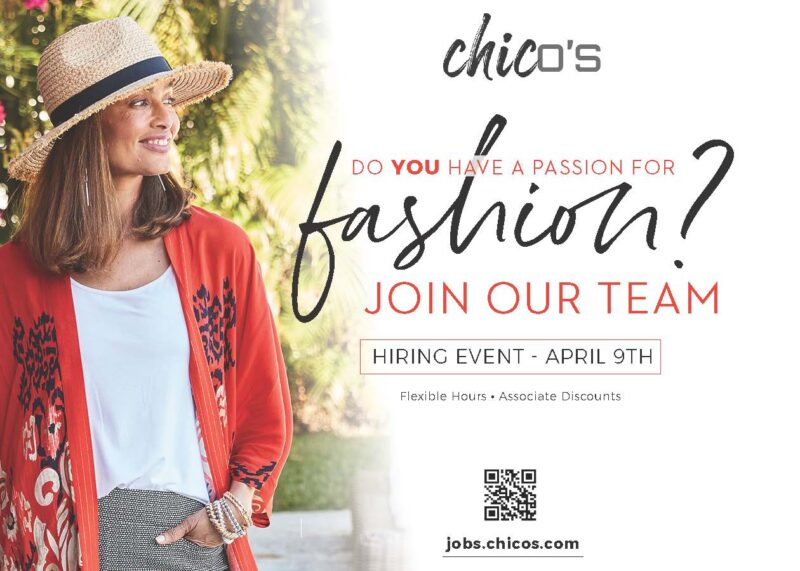 Chico's Hiring Event