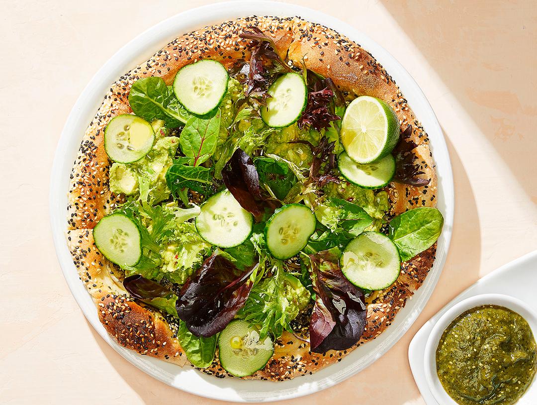 Avocado Super Green Pizza