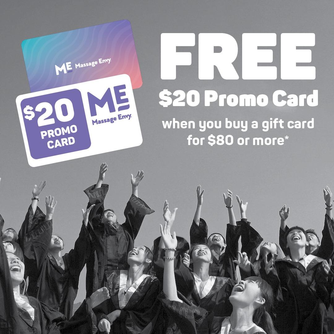 Free $20 Promo Card