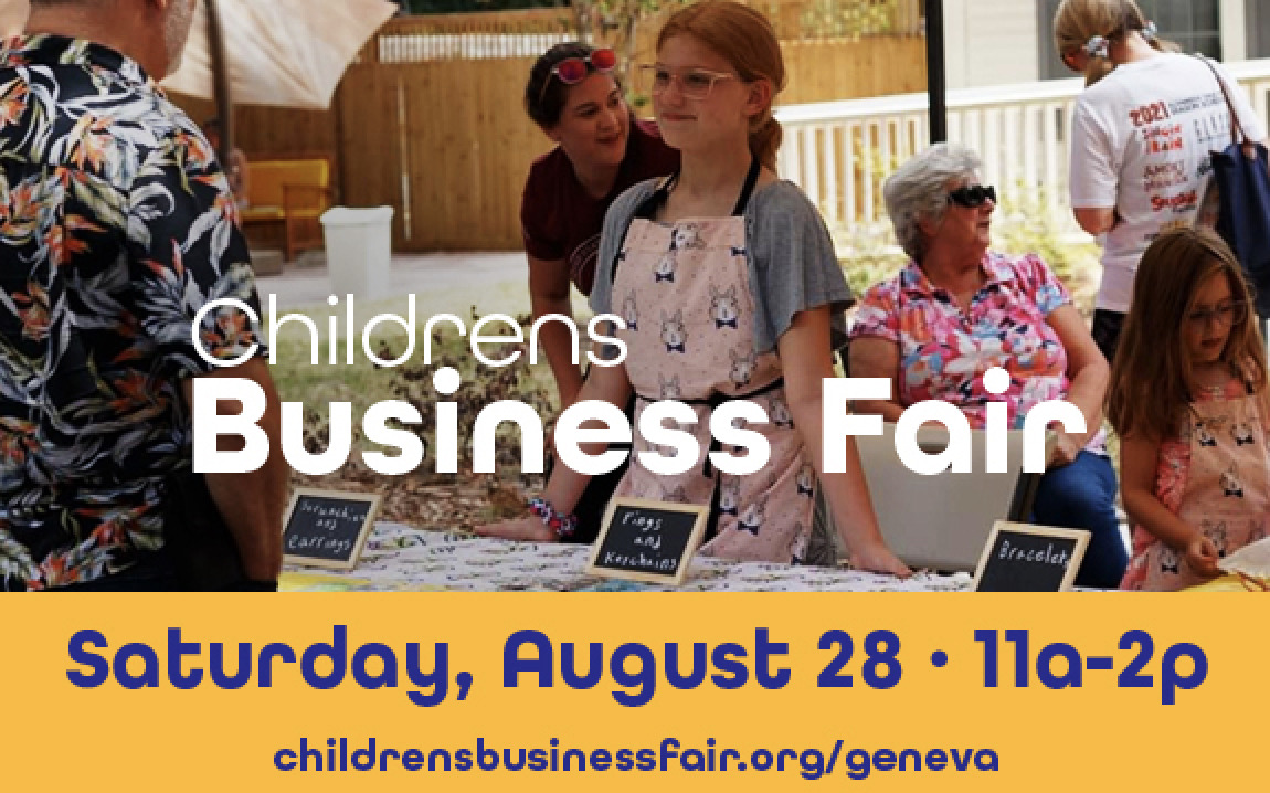Get Ready for the Children's Business Fair!