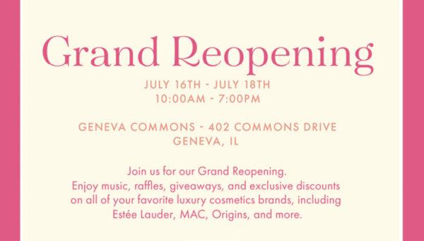 Grand Reopening Art