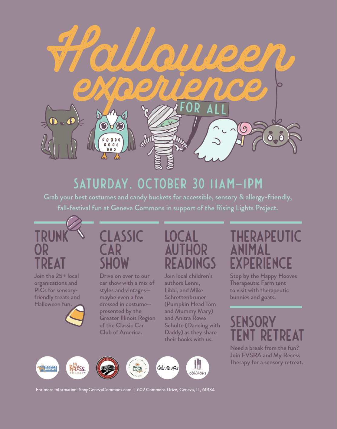 Join Us for Our Halloween Experience!
