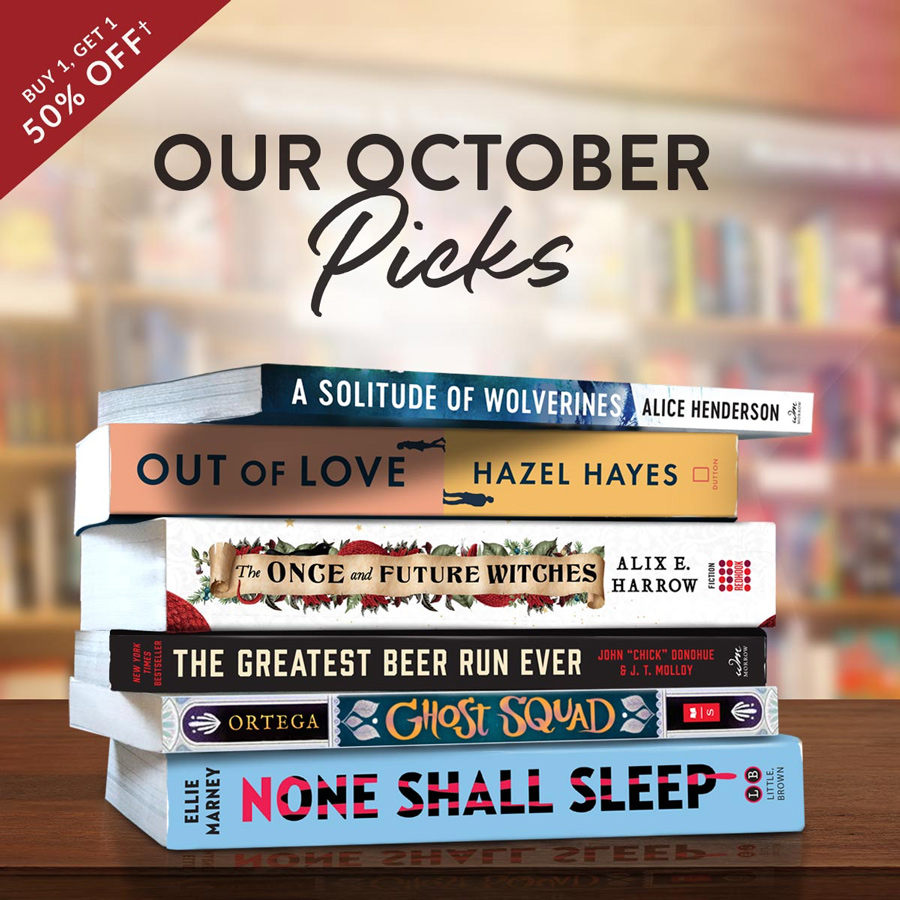 October Monthly Picks Sale!